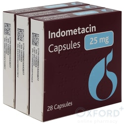 Indometacin 25mg 84 Capsules