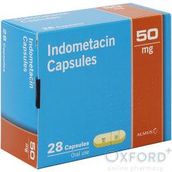 Indometacin 50mg 28 Capsules