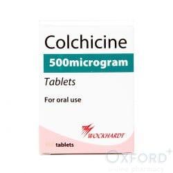 Colchicine 500mcg 12 Tablets