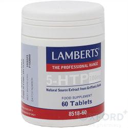 Lamberts 5-HTP 100mg 60 Tablets