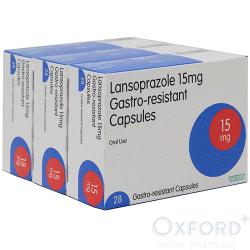 Lansoprazole 15mg Gastro-Resistant 84 (3x28) Capsules