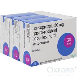 Lansoprazole 30mg Gastro-Resistant 84 (3x28) Capsules
