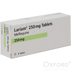 Lariam (Mefloquine) 250mg 8 Tablets