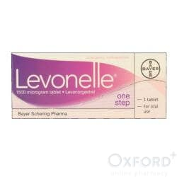 Levonelle (Levonorgestrel) One Step 1500mcg 1 Tablet