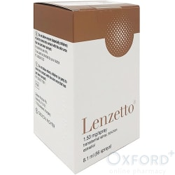 Lenzetto (estradiol) 1.53mg transdermal spray solution 56 doses 8.1ml