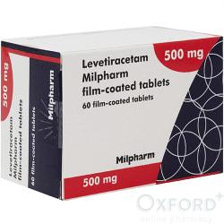 Levetiracetam 500mg 60 Tablets VET