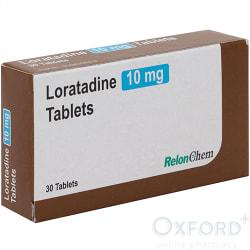 Loratadine 10mg 30 Tablets