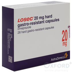 Losec (Omeprazole) 20mg Gastro-Resistant 28 Capsule