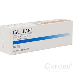 Lyclear Cream - Permethrin 5% (scabies treatment) 30g