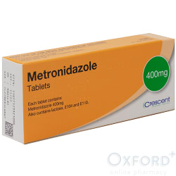 Metronidazole 400mg For Bacterial Vaginosis 5 Tablets