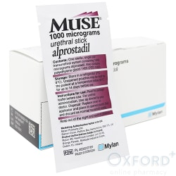 Muse (Alprostadil) 1000mcg 1 Pellet