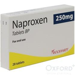 Naproxen 250mg 28 Tablets