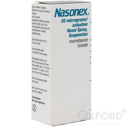 Nasonex (Mometasone Furoate) 50mcg Nasal Spray 140 Doses