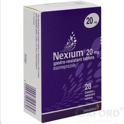 Nexium (Esomepazole) 20mg Gastro-Resistant 28 Tablets