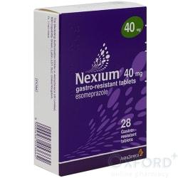 Nexium (Esomepazole) 40mg Gastro-Resistant 28 Tablets
