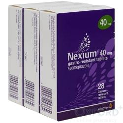 Nexium (Esomeprazole) 40mg Gastro-Resistant 84 Tablets