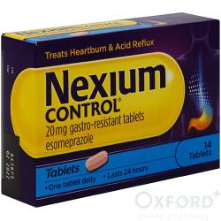 Nexium Control 20mg Gastro-Resistant 14 Tablets
