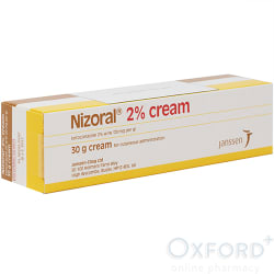 Nizoral Ketoconazole 2% Cream 30g antifungal