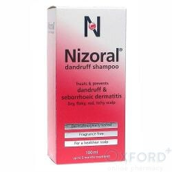 NIZORAL shampoo 20mg/ml 100ml