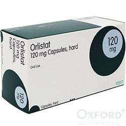 Orlistat 120mg 252 Capsules for weight loss