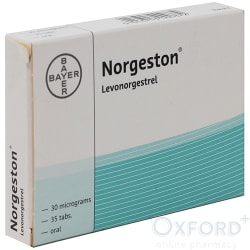 Norgeston 30 mcg levorgestrel 1x35 Tablets