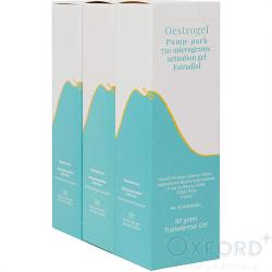 Oestrogel (Estradiol 0.06%) Gel 3 x 80g
