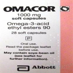 Omacor (Omega-3-Acid) 1000mg 28 Capsules