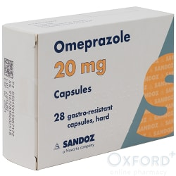 Omeprazole 20mg Gastro-Resistant 28 Capsules (Arthritis Add On)