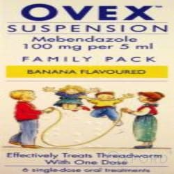 Ovex Suspension 100mg/5ml 30ml