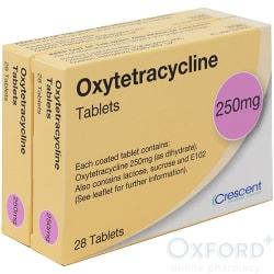 Oxytetracycline 250mg 56 Tablets