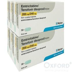 Emtricitabine/Tenofovir (PrEP) 180 tablets