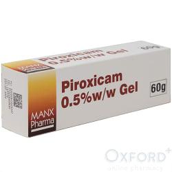 Piroxicam 0.5% Gel 60g