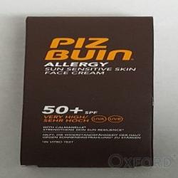 Pizbuin Allergy Face Cream SPF50 50ml