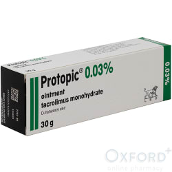 Protopic Ointment 0.03% 30g (GREEN) for VET MEDICATION
