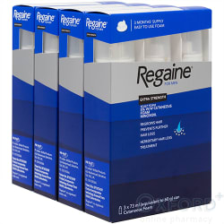 Regaine For Men Extra Strength Scalp FOAM 1 Year Supply 12 x 73ml
