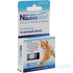 Sea Band Drug Free Nausea, Travel and Morning Sickness Relief