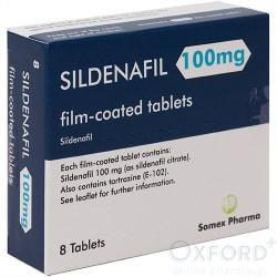 Sildenafil 100mg 8 Tablets