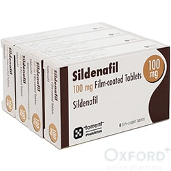 Sildenafil 100mg 32 Tablets