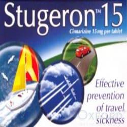 Stugeron 15 Tablets Travel Sickness