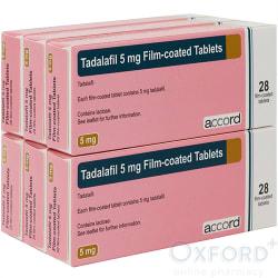Tadalafil 5mg (generic cialis) 6 x 28 Tablets