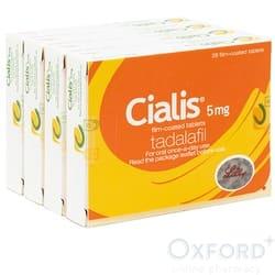 Cialis (Tadalafil) 5mg 112 Tablets