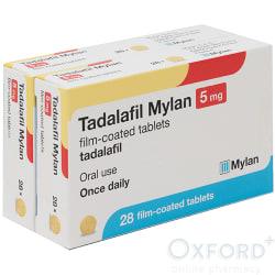 Tadalafil (Generic Cialis) 5mg 56 (2x28)Tablets