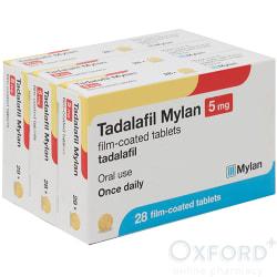 Tadalafil (Generic Cialis) 5mg 84 (3x28) Tablets
