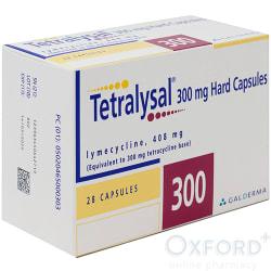 Tetralysal (Lymecycline) 408mg 28 Capsules