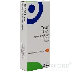 Tiopex 1mg Eye Gel 30x0.4g