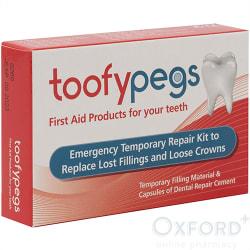 Toofypegs Emergency Temporary Repair kit