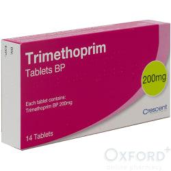 Trimethoprim 200mg For Cystitis Treatment 6 Tablets