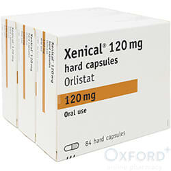 Xenical (Orlistat) 120mg 252 Capsules for weight loss