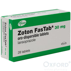 Zoton (Lansoprazole) Fastab 30mg Oro-Dispersible 28 Tablets