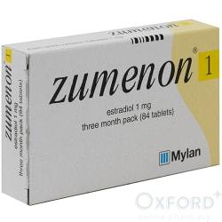 Zumenon (Estradiol) 1mg 84 Tablets